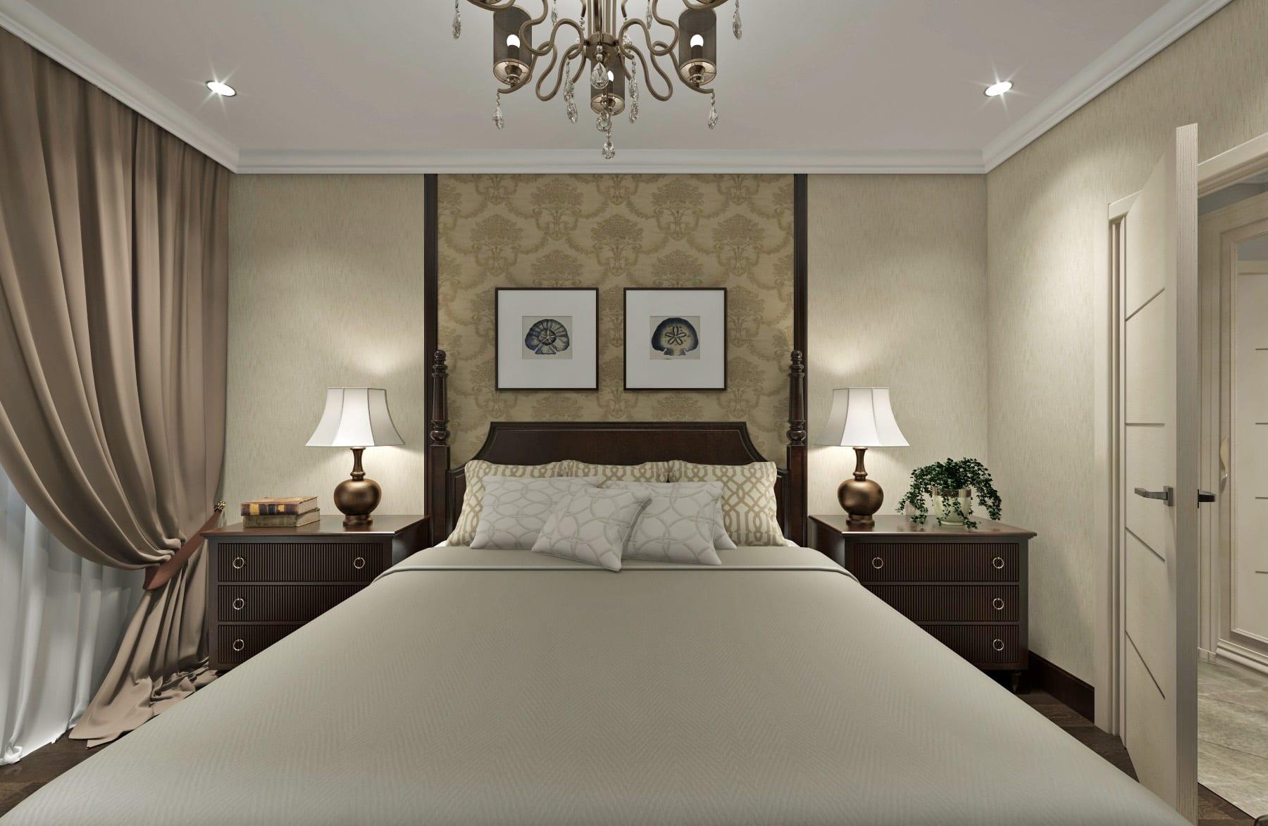 дизайн интерьера спальной в гомеле