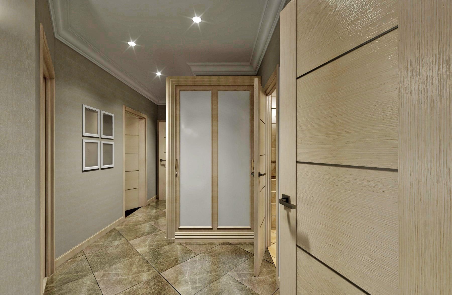 дизайнерская студия гомель, дизайн интерьера коридора