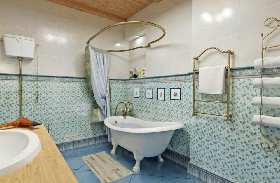 ванная классика прованс