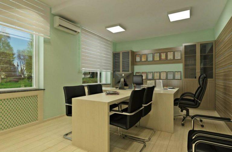 дизайн бизнес офис кабинет директора