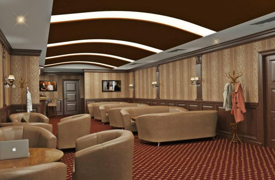 кафе бар в гостинице зал ожидания