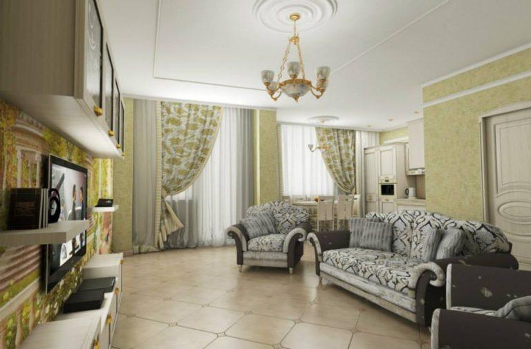 прованс гостиная изображение