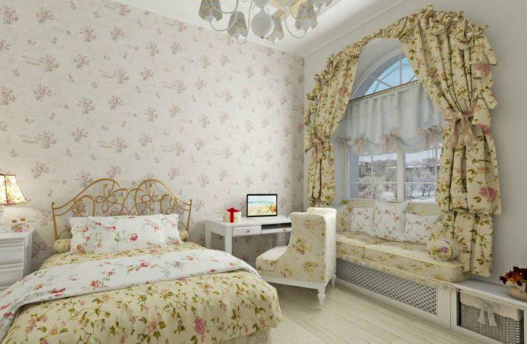 детская спальня с стиле прованс
