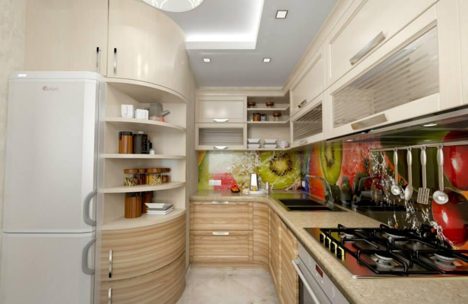 дизай кухни скинали в интерьере