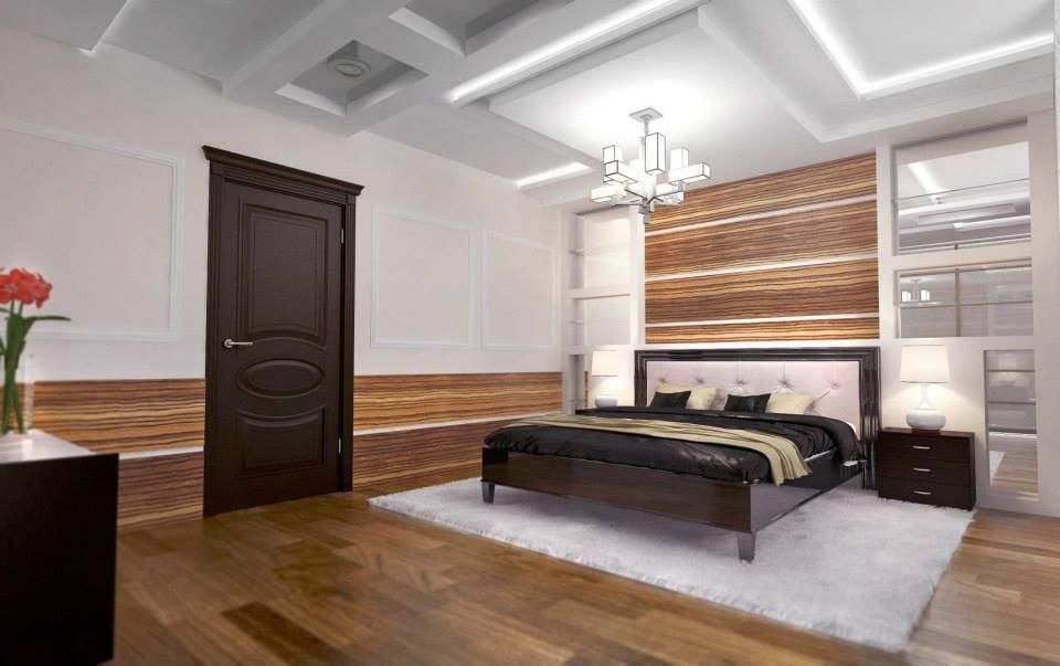 дизайн интерьера спальни минск