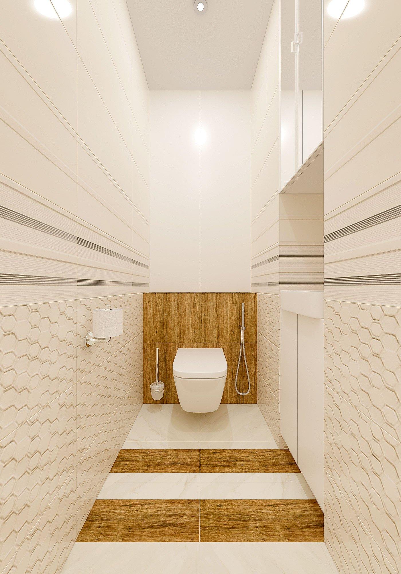 дизайн интерьера туалета в современном стиле, Гомель 2018, фото №4