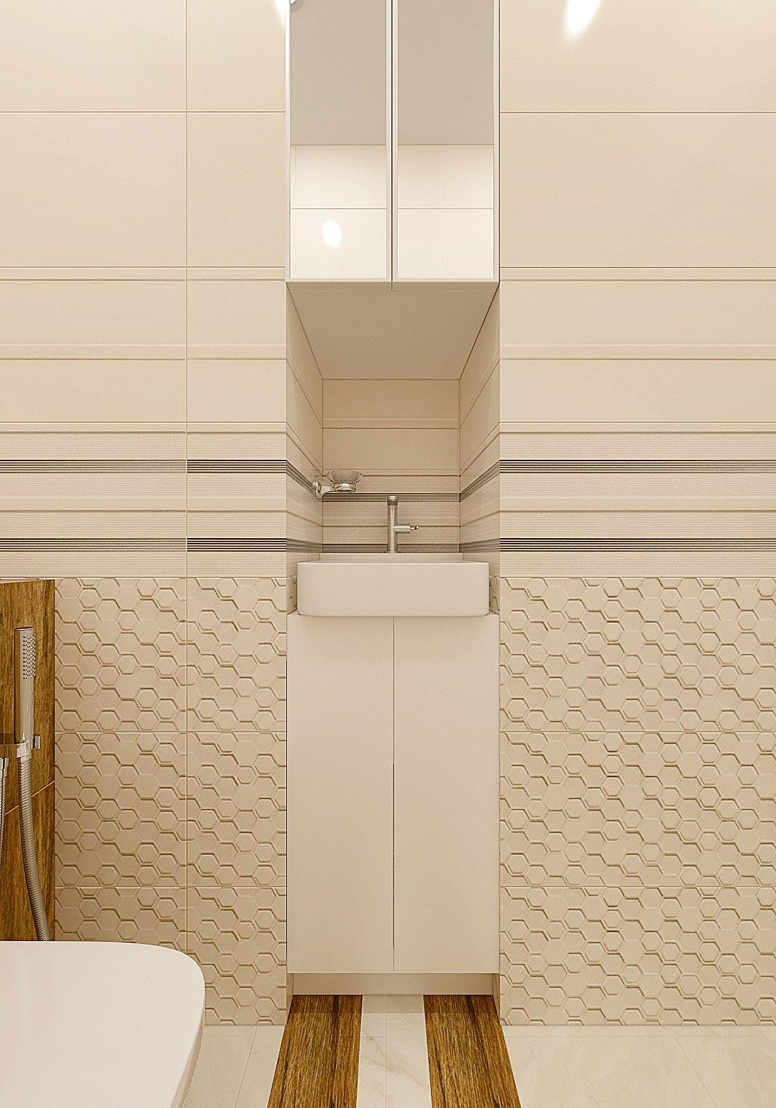 дизайн интерьера туалета в современном стиле, Гомель 2018, фото №1