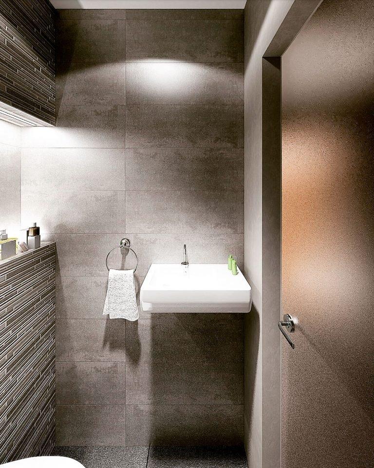 санузел в бане дизайн