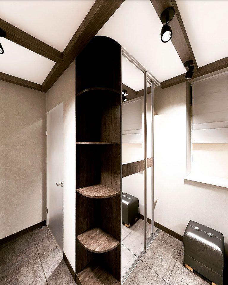 коридор бани дизайн интерьера