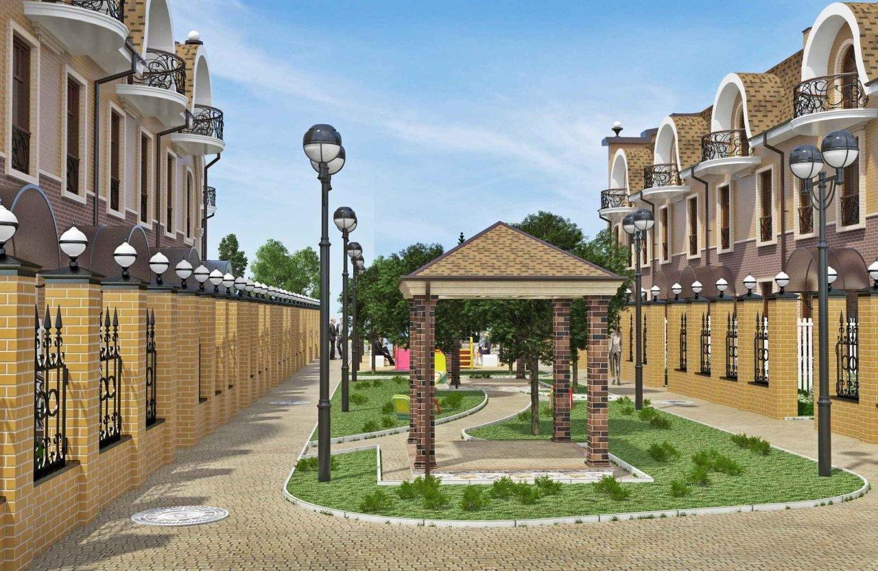Дизайн фасадов в Гомеле, проект таунхаусов в Нижнем Новгороде, изображение №2
