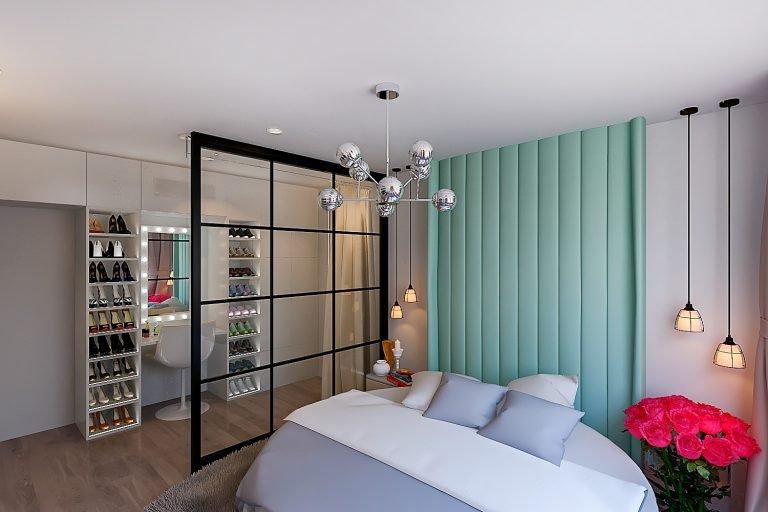 Спальня для девушки в стиле эколофт