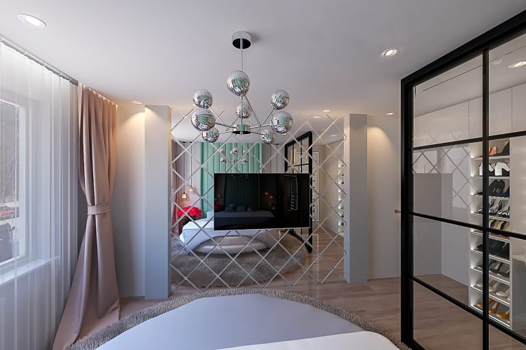 дизайн спальни в минске