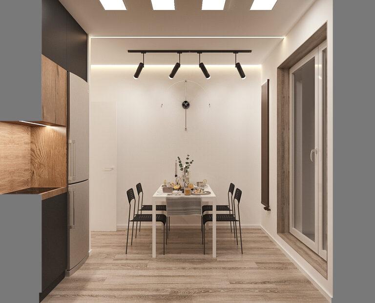 часы на кухне в интерьере, фото 3