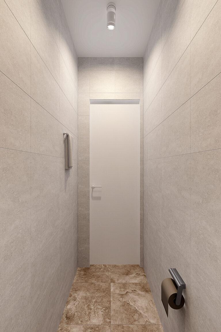 ширина туалета 80 см